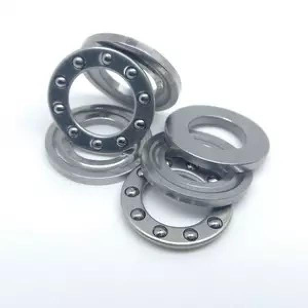 70 mm x 125 mm x 24 mm  NSK 7214 B Angular contact ball bearing #2 image